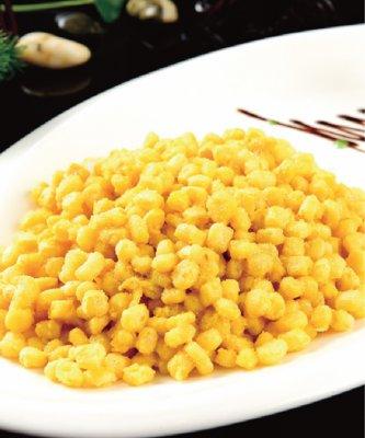 蟹黄玉米粒